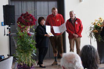 Preisverleihung für Pascal Klenart auf der BUGA Erfurt 2021