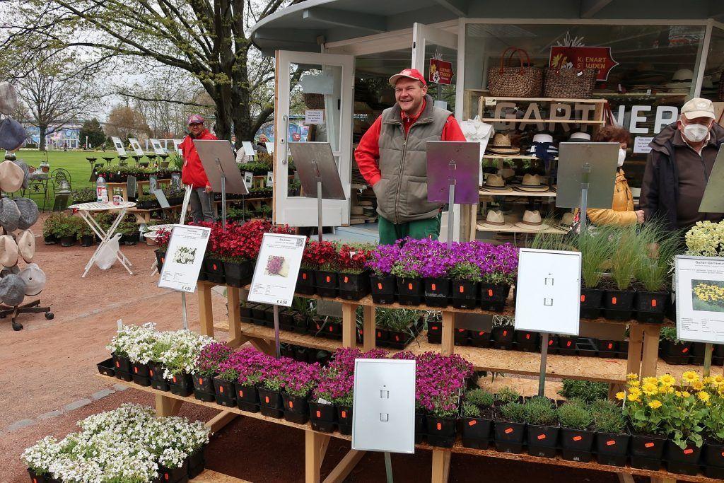 Pascal Klenart auf dem BUGA-Gärtnermarkt