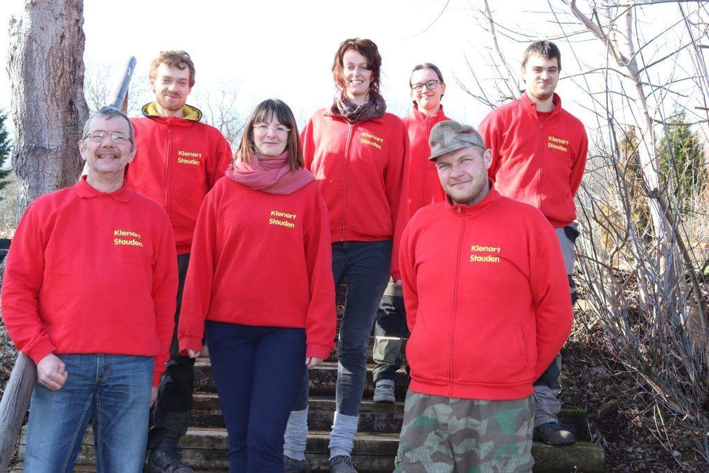 Das Team der Gärtnerei Klenart-Stauden Erfurt