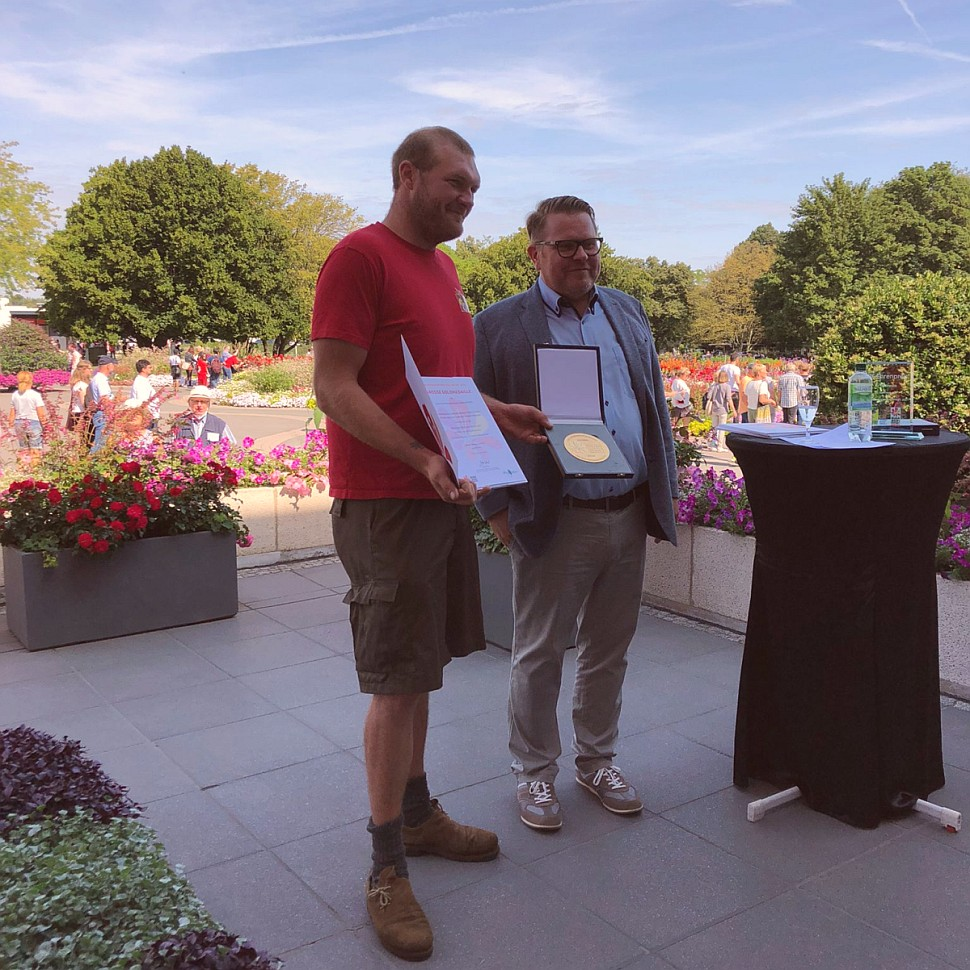 BUGA Erfurt 2021 - Große Goldmedaille für KLENART STAUDEN
