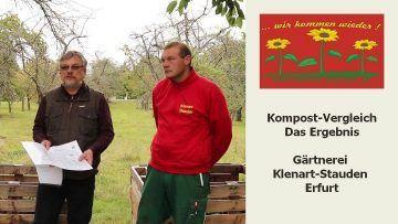 Kompost-Vergleich - Das Ergebnis