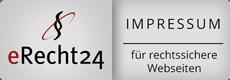 Siegel eRecht24 Impressum